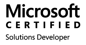 Microsoft Certified Solutions Developer - MCSD